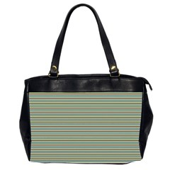 Decorative Lines Pattern Office Handbags (2 Sides)