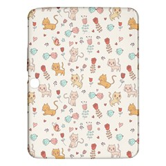 Kittens And Birds And Floral  Patterns Samsung Galaxy Tab 3 (10 1 ) P5200 Hardshell Case  by TastefulDesigns