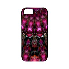 Pink Vortex Half Kaleidoscope  Apple Iphone 5 Classic Hardshell Case (pc+silicone) by KirstenStar