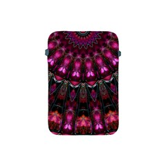 Pink Vortex Half Kaleidoscope  Apple Ipad Mini Protective Soft Cases by KirstenStar