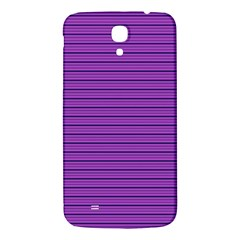 Decorative Lines Pattern Samsung Galaxy Mega I9200 Hardshell Back Case by Valentinaart