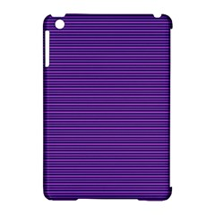 Decorative Lines Pattern Apple Ipad Mini Hardshell Case (compatible With Smart Cover)