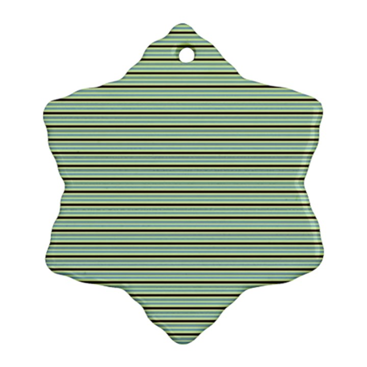 Decorative lines pattern Ornament (Snowflake)