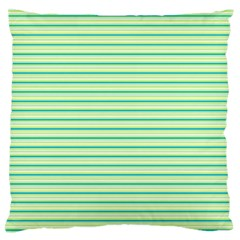 Decorative Lines Pattern Large Flano Cushion Case (one Side) by Valentinaart