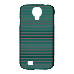 Decorative Lines Pattern Samsung Galaxy S4 Classic Hardshell Case (pc+silicone)