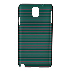 Decorative Lines Pattern Samsung Galaxy Note 3 N9005 Hardshell Case by Valentinaart