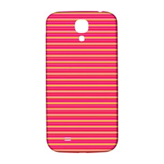 Decorative Lines Pattern Samsung Galaxy S4 I9500/i9505  Hardshell Back Case by Valentinaart