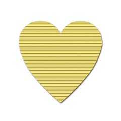 Decorative Lines Pattern Heart Magnet by Valentinaart