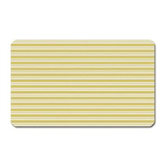 Decorative Lines Pattern Magnet (rectangular) by Valentinaart