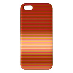Decorative Lines Pattern Apple Iphone 5 Premium Hardshell Case