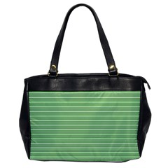 Decorative Lines Pattern Office Handbags