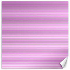 Decorative Lines Pattern Canvas 20  X 20   by Valentinaart