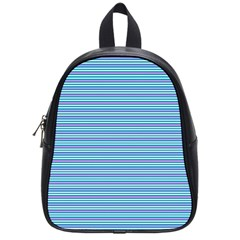 Decorative Lines Pattern School Bags (small)