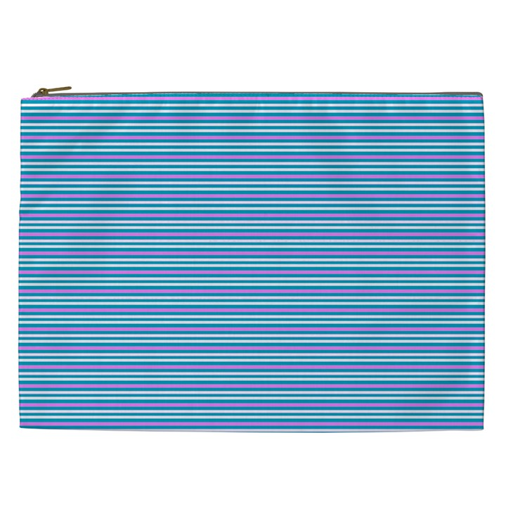 Decorative lines pattern Cosmetic Bag (XXL)