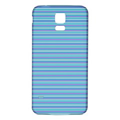 Decorative Lines Pattern Samsung Galaxy S5 Back Case (white)