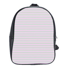 Decorative Lines Pattern School Bags(large)