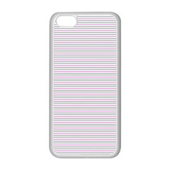 Decorative Lines Pattern Apple Iphone 5c Seamless Case (white)