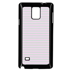 Decorative Lines Pattern Samsung Galaxy Note 4 Case (black)