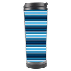 Decorative Lines Pattern Travel Tumbler
