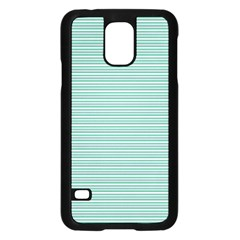 Decorative Line Pattern Samsung Galaxy S5 Case (black)