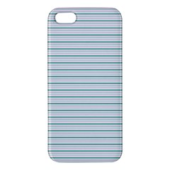 Decorative Line Pattern Apple Iphone 5 Premium Hardshell Case