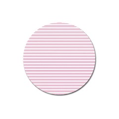 Decorative Line Pattern Magnet 3  (round) by Valentinaart