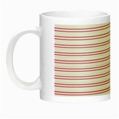 Decorative Line Pattern Night Luminous Mugs by Valentinaart