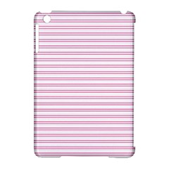 Decorative Line Pattern Apple Ipad Mini Hardshell Case (compatible With Smart Cover)