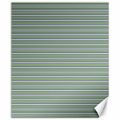 Decorative Line Pattern Canvas 8  X 10