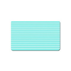 Decorative Line Pattern Magnet (name Card) by Valentinaart