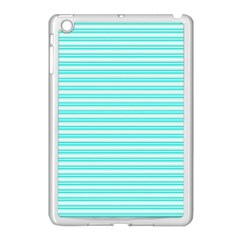 Decorative Line Pattern Apple Ipad Mini Case (white)