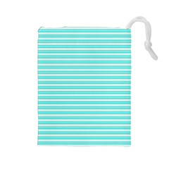Decorative Line Pattern Drawstring Pouches (large)