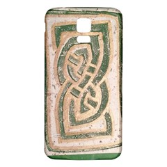 Ab Celtic Swirl Samsung Galaxy S5 Back Case (white) by DeneWestUK