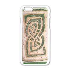 Ab Celtic Swirl Apple Iphone 6/6s White Enamel Case by DeneWestUK