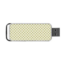 Artistic Pattern Portable Usb Flash (one Side) by Valentinaart