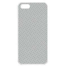 Artistic Pattern Apple Iphone 5 Seamless Case (white) by Valentinaart