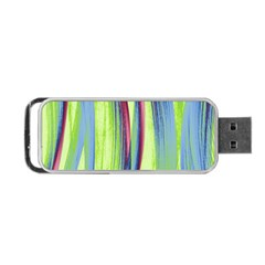 Artistic Pattern Portable Usb Flash (two Sides) by Valentinaart