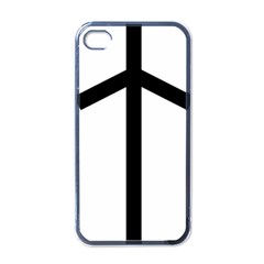 Grapevine Cross Apple Iphone 4 Case (black) by abbeyz71