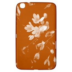 Autumn Crocus Orange Samsung Galaxy Tab 3 (8 ) T3100 Hardshell Case  by DeneWestUK