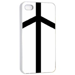 Grapevine Cross Apple Iphone 4/4s Seamless Case (white) by abbeyz71