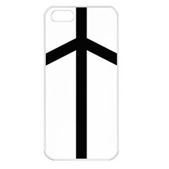 Grapevine Cross Apple Iphone 5 Seamless Case (white) by abbeyz71