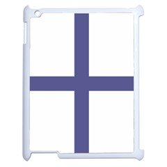 Greek Cross  Apple Ipad 2 Case (white) by abbeyz71