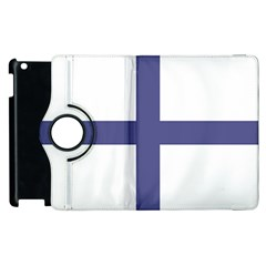 Greek Cross  Apple Ipad 2 Flip 360 Case by abbeyz71