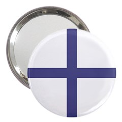 Greek Cross  3  Handbag Mirrors by abbeyz71