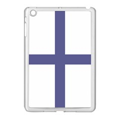 Greek Cross  Apple Ipad Mini Case (white) by abbeyz71