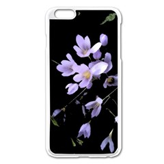 Autumn Crocus Apple Iphone 6 Plus/6s Plus Enamel White Case