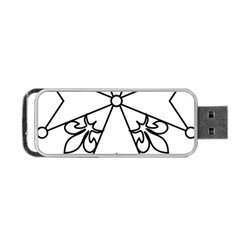 Huguenot Cross Portable Usb Flash (one Side) by abbeyz71
