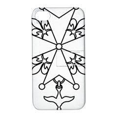 Huguenot Cross Apple Iphone 4/4s Hardshell Case With Stand by abbeyz71
