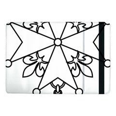 Huguenot Cross Samsung Galaxy Tab Pro 10 1  Flip Case by abbeyz71