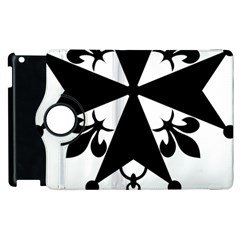 Huguenot Cross Apple Ipad 2 Flip 360 Case by abbeyz71